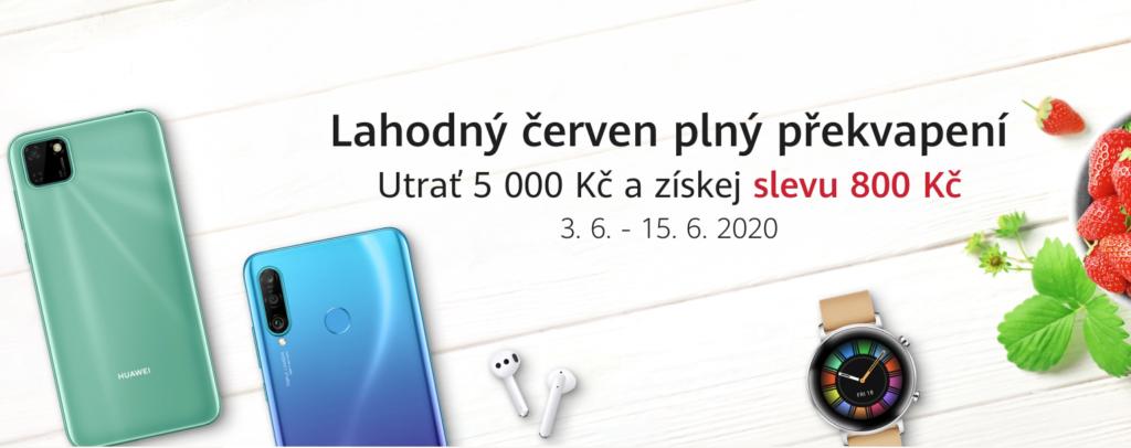 Červnová nabídka na Huawei.cz láká na dárky i slevy