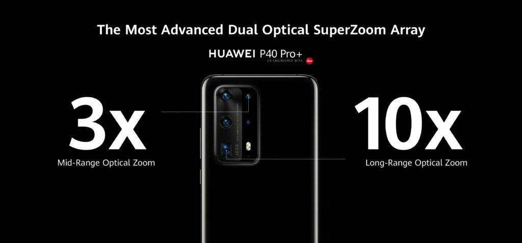 Huawei P40 Pro+ s 10× optickým zoomem se v Evropě začne prodávat 25. června