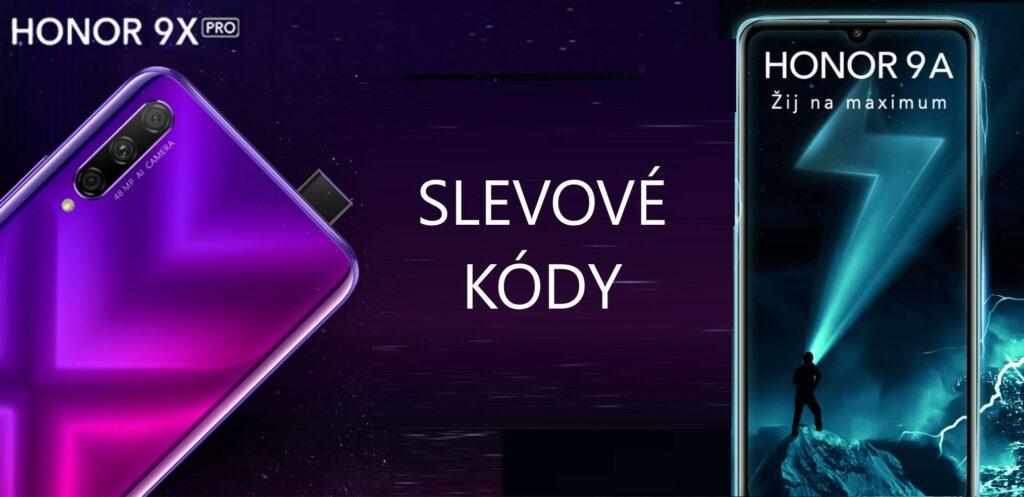 Rozdáváme slevové kódy na telefony Honor 9X Pro a Honor 9A