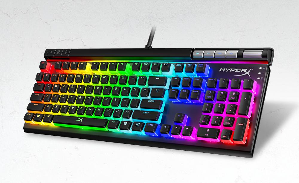 HyperX představuje špičkovou klávesnici Alloy Elite 2