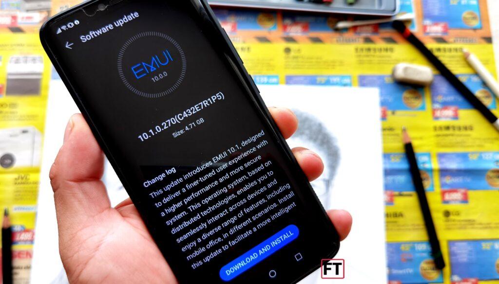 Huawei aktualizuje Mate 20 Pro na EMUI 10.1