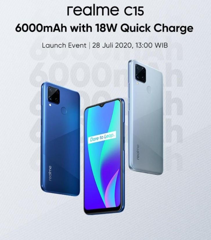 Realme C15 zaujme 6 000mAh baterií a nízkou cenou