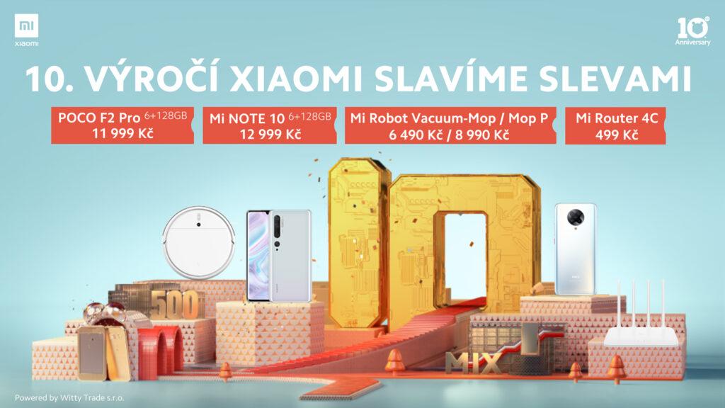 Xiaomi zlevňuje smartphony i produkty chytré domácnosti