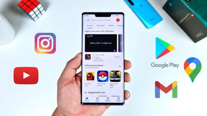 ak nainstalovat populární Google služby do telefonů Huawei