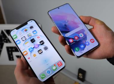 S21 Ultra proti iPhonu 12 Pro Max